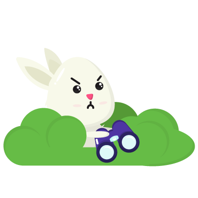 Fluffy - kawaii bunny stickers messages sticker-9