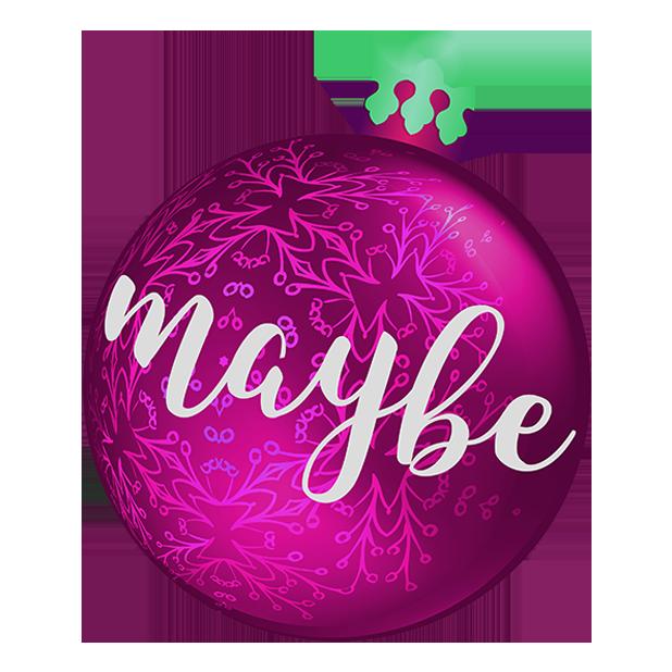 Christmas Bulbs messages sticker-8