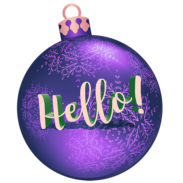 Christmas Bulbs messages sticker-6