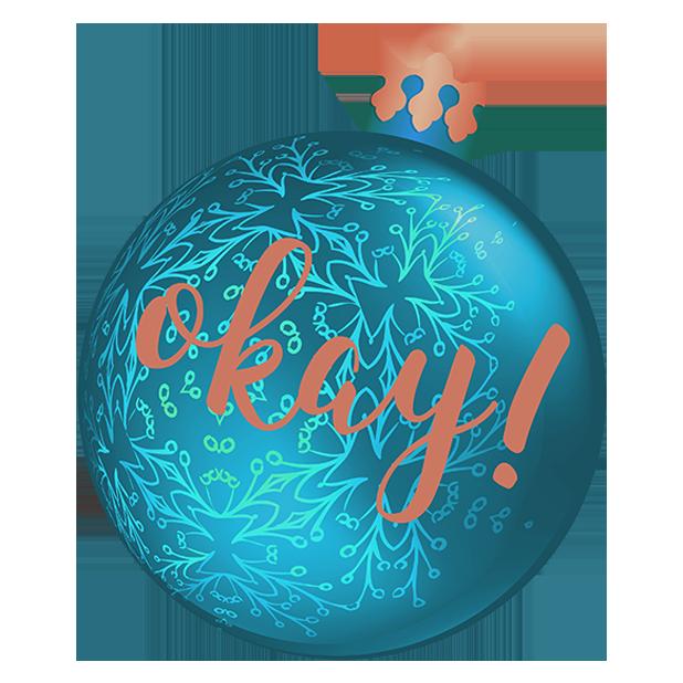 Christmas Bulbs messages sticker-4