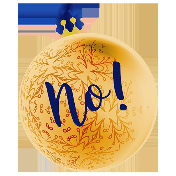 Christmas Bulbs messages sticker-5