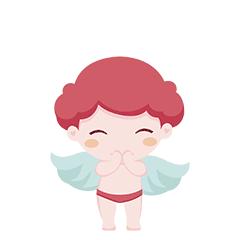 天使宝宝简单-贴纸 messages sticker-2
