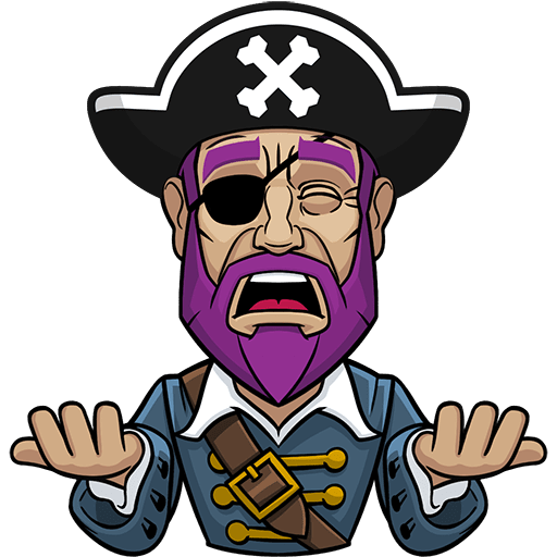 Messy The Pirate messages sticker-8