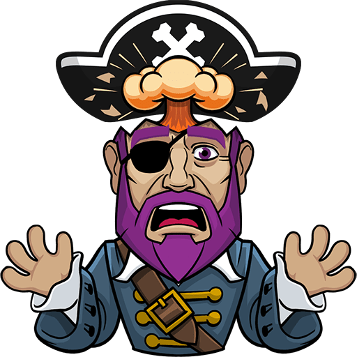 Messy The Pirate messages sticker-11