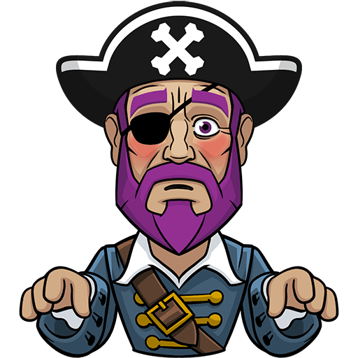 Messy The Pirate messages sticker-9