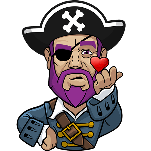 Messy The Pirate messages sticker-4