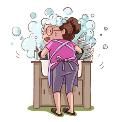 Busy Mom messages sticker-1
