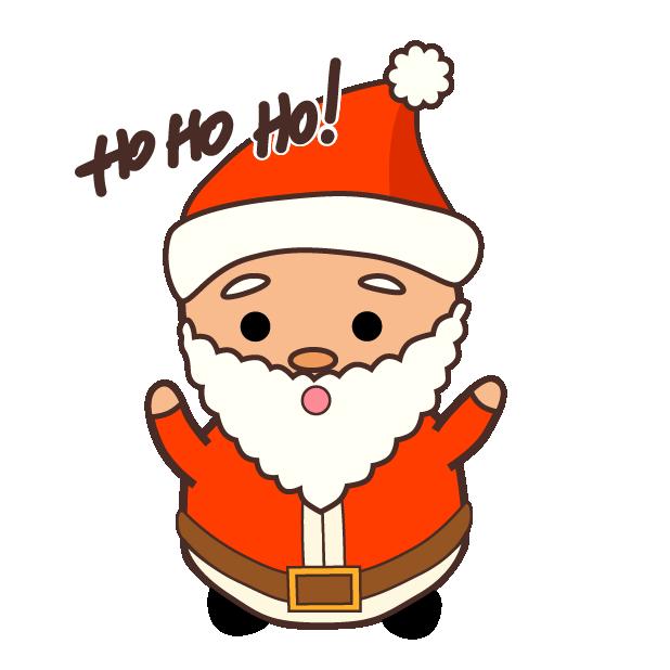 Cute Kawaii Christmas messages sticker-2