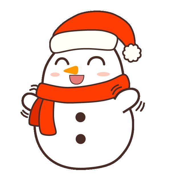 Cute Kawaii Christmas messages sticker-3