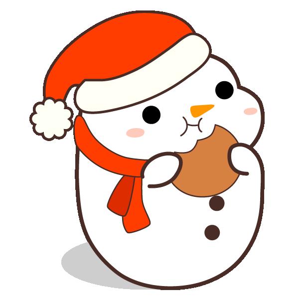 Cute Kawaii Christmas messages sticker-5