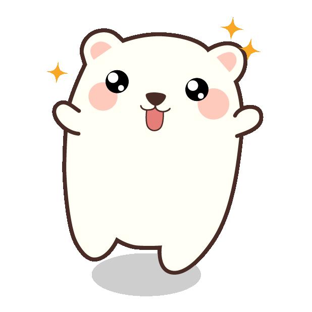 Cute Kawaii Christmas messages sticker-9