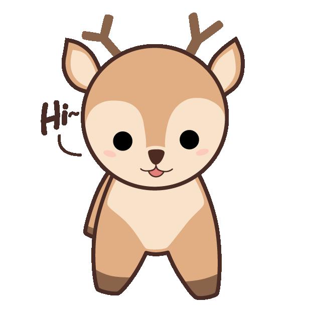 Cute Kawaii Christmas messages sticker-0