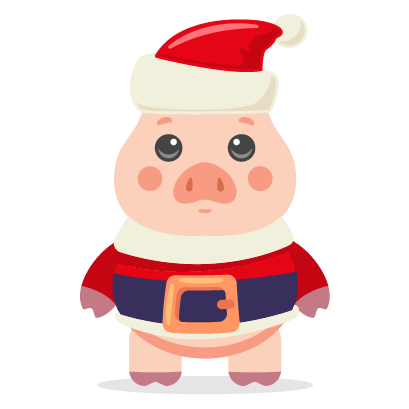 Piggy New Year's Eve Stickers messages sticker-10
