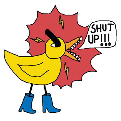 Angry Duck Stickers vol. 1 messages sticker-5