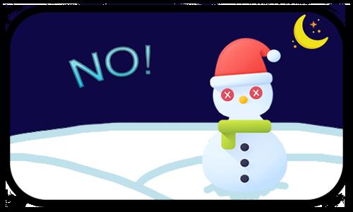 Happy Snow messages sticker-3