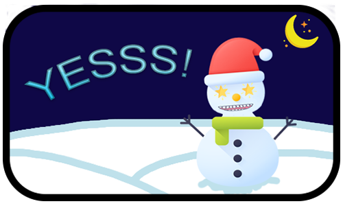 Happy Snow messages sticker-4