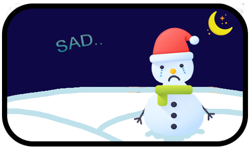 Happy Snow messages sticker-9