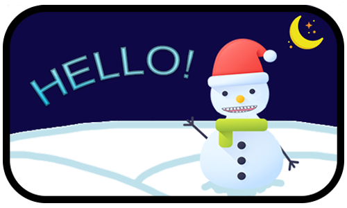 Happy Snow messages sticker-0