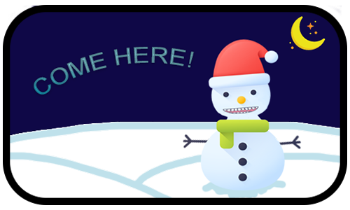 Happy Snow messages sticker-2
