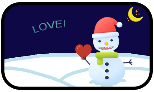 Happy Snow messages sticker-7