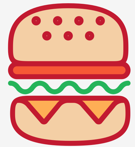 say food sticker messages sticker-5