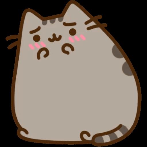 Cat Pusheen Stickers messages sticker-8