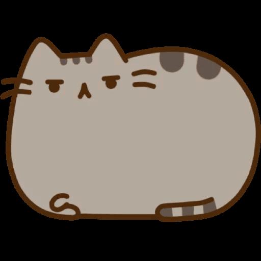 Cat Pusheen Stickers messages sticker-7