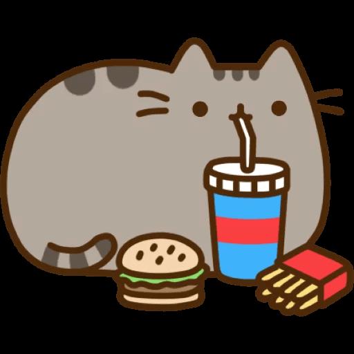 Cat Pusheen Stickers messages sticker-2