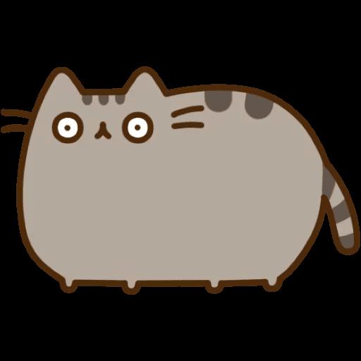Cat Pusheen Stickers messages sticker-6