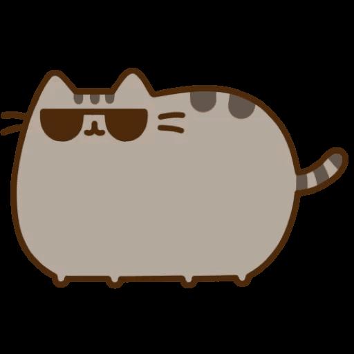 Cat Pusheen Stickers messages sticker-0