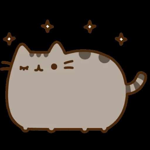 Cat Pusheen Stickers messages sticker-5