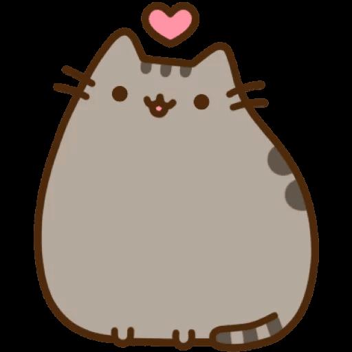Cat Pusheen Stickers messages sticker-1