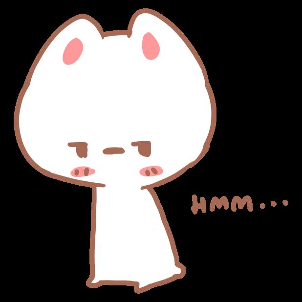 Aisu the Rabbit Stickers messages sticker-10
