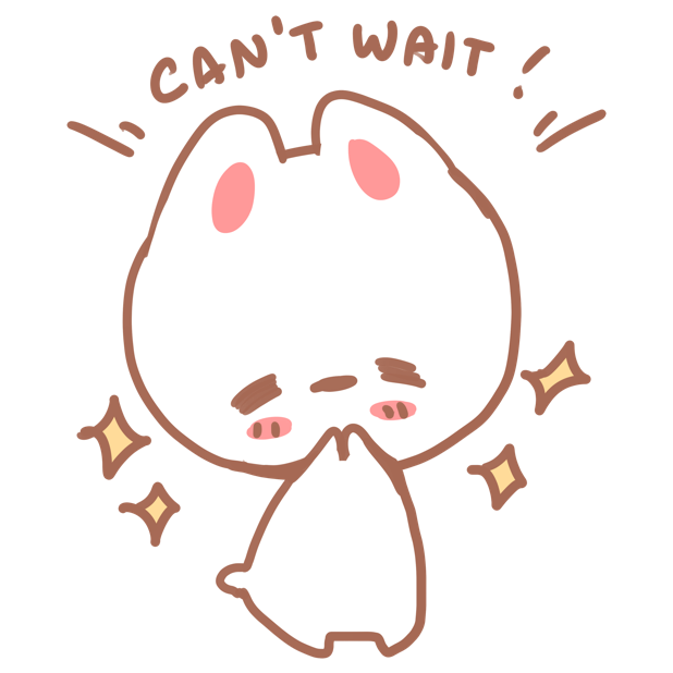 Aisu the Rabbit Stickers messages sticker-4