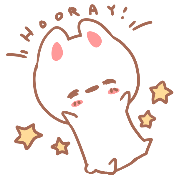 Aisu the Rabbit Stickers messages sticker-3