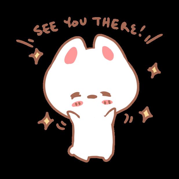 Aisu the Rabbit Stickers messages sticker-5