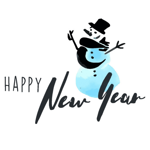 Happyy New Year Sticker messages sticker-2