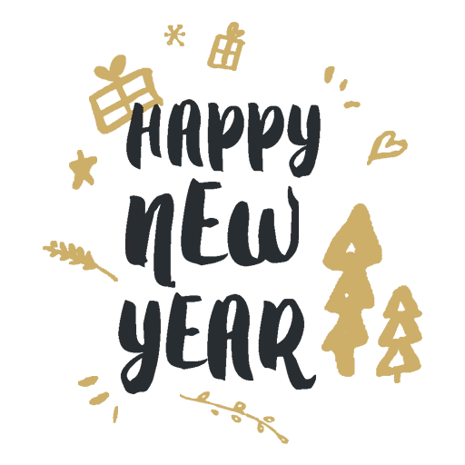 Happyy New Year Sticker messages sticker-9