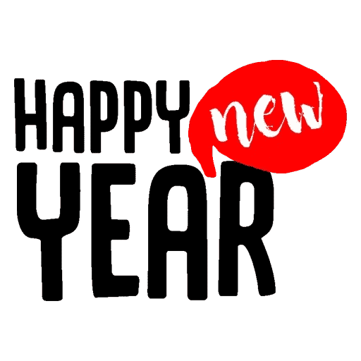 Happyy New Year Sticker messages sticker-0