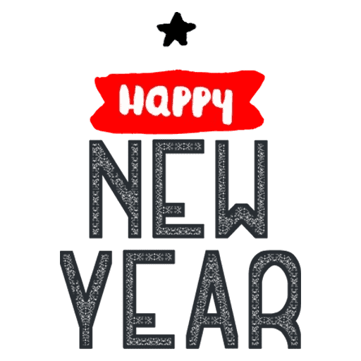 Happyy New Year Sticker messages sticker-5