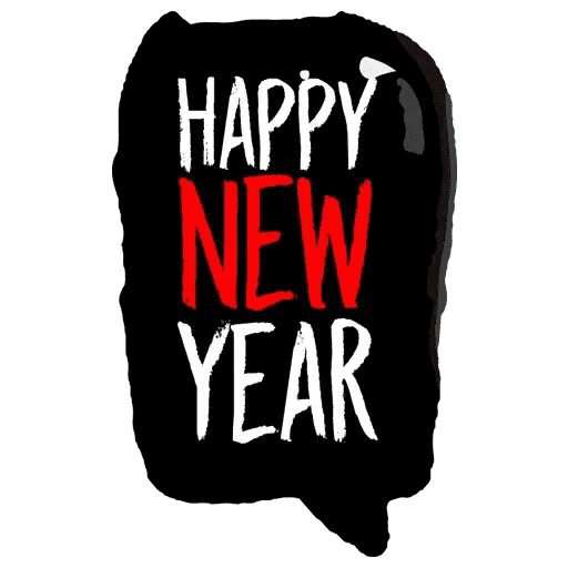 Happyy New Year Sticker messages sticker-6