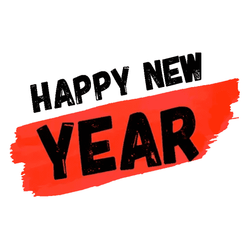 Happyy New Year Sticker messages sticker-7