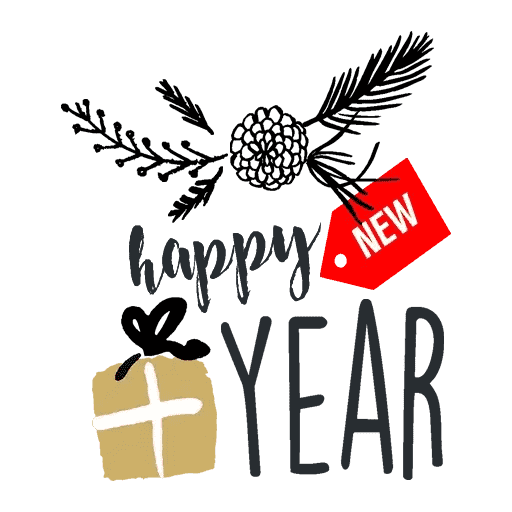 Happyy New Year Sticker messages sticker-10