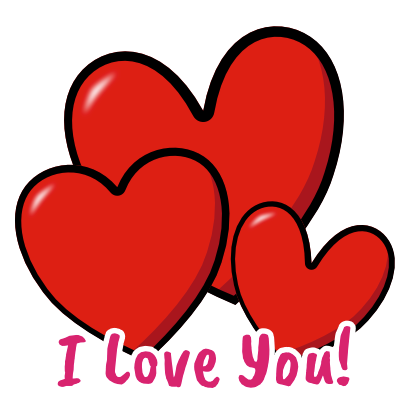 I Heart U Animated Stickers messages sticker-10