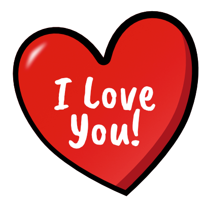 I Heart U Animated Stickers messages sticker-11