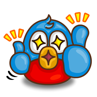 Poopi Birds Stickers messages sticker-2