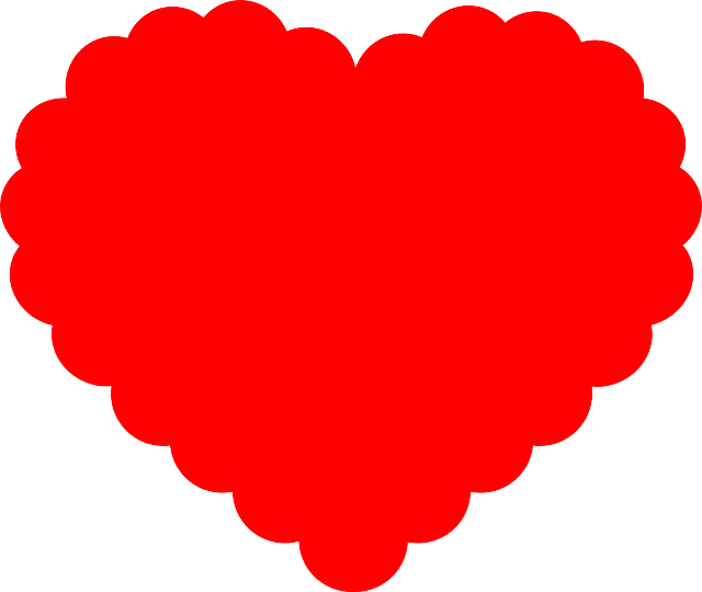 Red Heart Shaped Stickers messages sticker-1