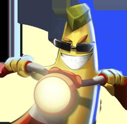 Banana Racer - Moto Racing messages sticker-0