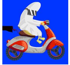 Banana Racer - Moto Racing messages sticker-3