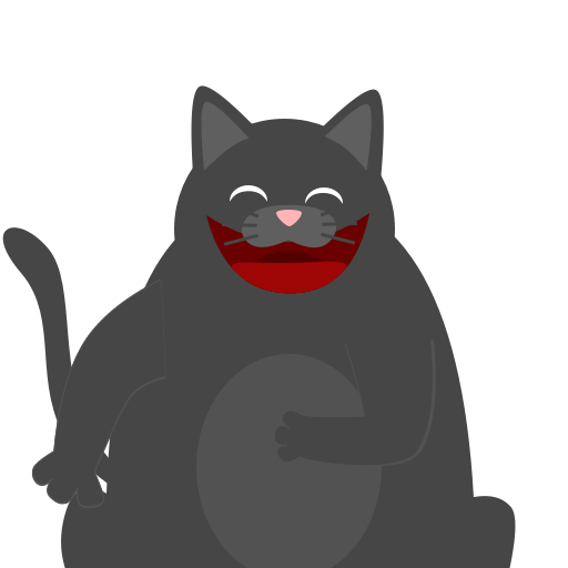 Black Pussycat messages sticker-11